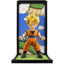 Boneco Dragon Ball Z Super Saiyan Son Goku Tamashii Buddies