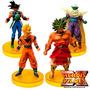 Kit Com 4 Bonecos Do Dragon Ball Goku Piccolo Broly Coleção