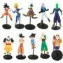 Conjunto Bonecos Figuras Dragon Ball - Kit 10 Pcs -