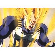 Dragon Ball Z Vegeta + Acessórios + Articulado + Barato