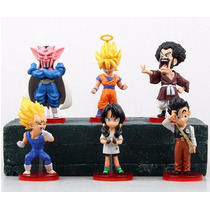 Kit C/ 6 Bonecos Dragon Ball Z Serie Majin Boo - Ed Limitada