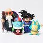 4 Action Figures,sun Goku, Pilaf, Mestre Kame Dragon Ball Z