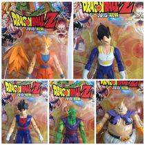 Kit 5 Bonecos Dragon Ball Goku Vegita Bo Gohan Picolo