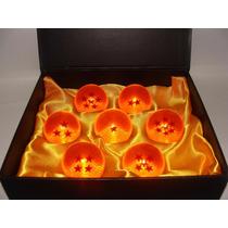 Coleção 7 Esferas Do Dragão Dragon Ball Z Na Caixa Esferas