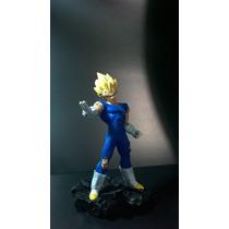 Estátua Vegeta Super Saiyan Em Resina - Dragon Ball Z