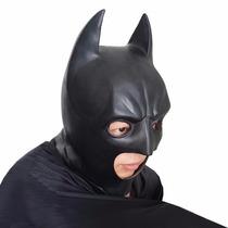 Máscara Batman Herói Liga Da Justiça Látex - Envio 24hs