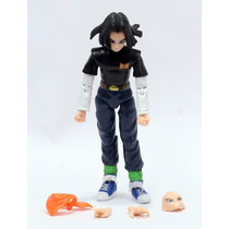 Dragon Ball Z Boneco Action Figure Android 17
