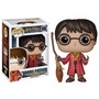 Harry Potter - Quidditch Harry Boneco Pop Vinil Funko 10cms
