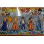 Kit Dragon Ball Z Com 4 Bonecos Articulados