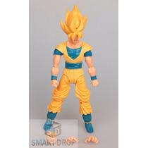 Kit C/ 10 Bonecos Goku Sayajim 1 Dragon Ball Z Articulado
