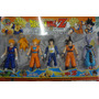 Kit Dragon Ball Z Com 4 Bonecos Articulados