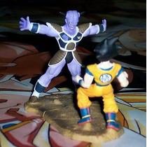 Boneco Gashapon Dragon Ball- Goku Vs Gnyu