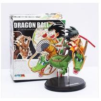Bonecos Goku E Shenlong - 18 Cm - Lacrado - Pronta Entrega