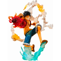 Action Figure Monkey D. Luffy Modo Batle One Piece