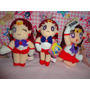Frete Gratis Sailor Moon Mars Marte Com 3 Pelúcias (plush)