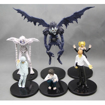 Kit 6 Pcs Bonecos Death Note Action Figure - Mercadoenvios