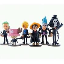 Miniaturas - Luffy Sanji Zoro - One Piece