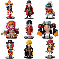 One Piece - Monkey D. Luffy - 9 Bonecos - Pronta Entrega
