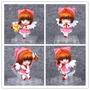 Cardcaptor Sakura Kinomoto -conjunto 4 Bonecos Action Figure