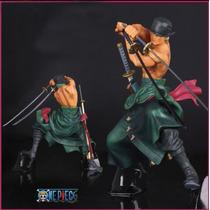 Roronoa Zoro Action Figure One Piece Novo Mundo