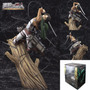 Estatua Attack On Titan Levi Rivaille With Tree Trunk 26cm