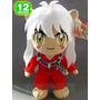 Boneco De Pelucia Inuyasha 30 Cm Anime Manga Otaku