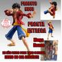 Action Figure Boneco - One Piece - Luffy Megahouse Bootleg