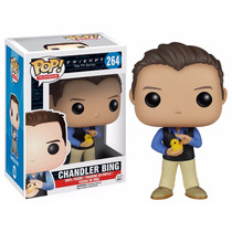 Seriado Friends Chandler Bing Boneco Pop Vinil Da Funko 10cm