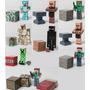 Toda Coleção Minecraft 9 Bonecos - 28 Peças - Mercado Envios