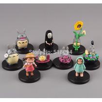 Set Com 9 Miniaturas Totoro - Pronta Entrega! Frete Grátis!