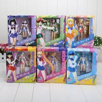 Sailor Moon 6 Peças/set Action Figure 15cm Frete Grátis