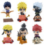 Boneco Naruto 6 Action Figures Naruto Sasuke Frete Grátis