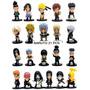 Kit 21 Bonecos Naruto Shipouden 3 Generations 5 Cm Figures