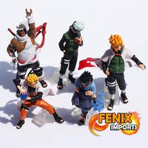 Bonecos Naruto Shippuden Coleção 5 Peças Kakashi Minato
