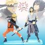 Figure/ Boneco Do Naruto E Sasuke Da Série Naruto - 2 Peças
