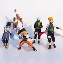 Kit Sasuke + Killer B + Naruto Hokage + Kakashi + Minato