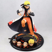 Action Figure Uzumaki Naruto Shippuden 16 Cm - Frete Gratis