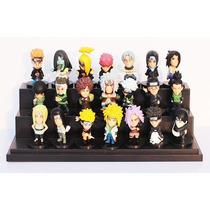 Kit C/ 21 Miniaturas Action Figures Naruto - Pronta Entrega!