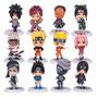Kit Bonecos Naruto Shippuden 12 Peças / Coleção Anime