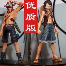 Onie Piece Ace E Luffy 17cm Figura Anime Brinquedo Boneco