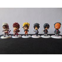 Kit Naruto Shippuden Com 6 Personagens.