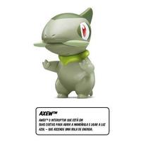 Pokemon Axew - Mc Donalds - Boneco Promocional - No Estado