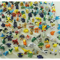 Kit Com 20 Miniaturas Pokemon, Bonecos Pokemon 2 A 3cm