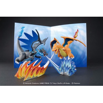 Model Kit Mega Charizard X E Y Pokémon Pronta Entrega