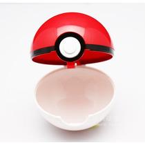 Pokebola Com Pokemon Miniatura Pronta Entrega Anime Aliança