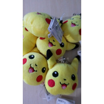 Pikachu Pelúcia - Mini Chaveiro Original