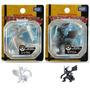Bonecos Pokemon Black/white - Kit Com Reshiram E Zekrom.