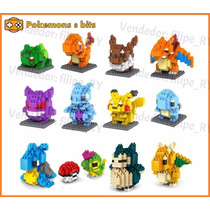Pokemon 8 Bits - Lego - Blocos
