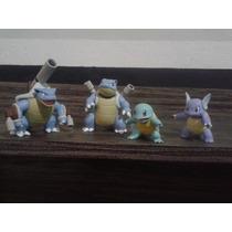 Miniaturas Boneco Pokémon Squirtle Blastoise