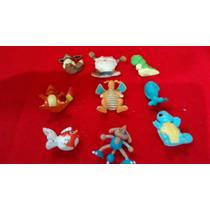Lote De Pokemon Com 9 Brinquedo Antigo